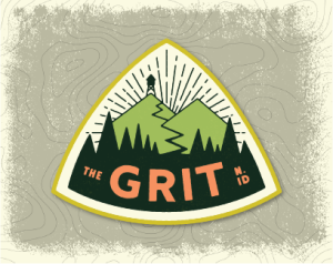 the GRIT trail series logo